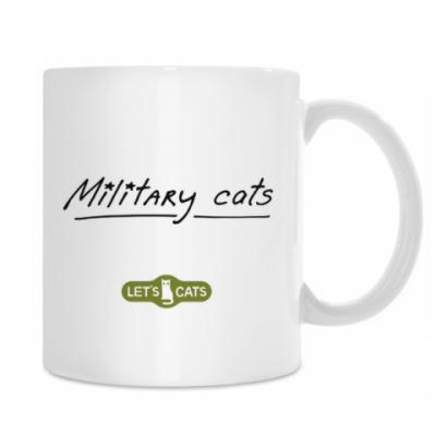кот Морпехот из серии 'Military cats'