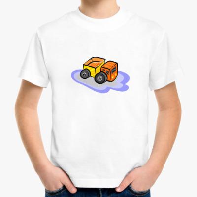 Детская футболка Грузовик