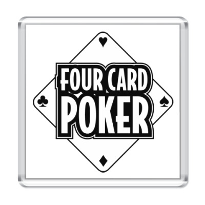 Магнит Four Card Poker