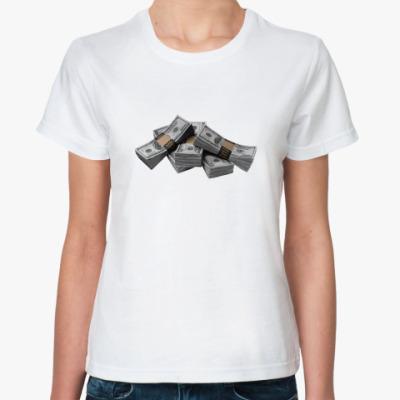 Классическая футболка Деньги