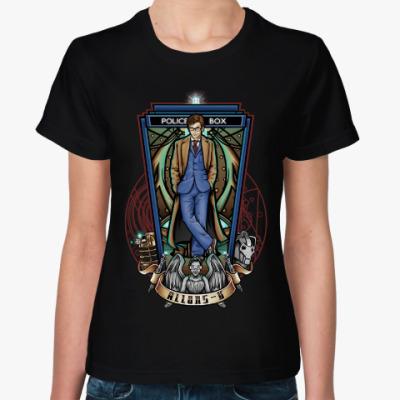 Женская футболка Allons-y