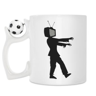 Кружка Зомби ТВ