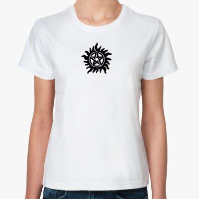 Классическая футболка Demon Seal