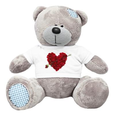 Плюшевый мишка Тедди Valentine