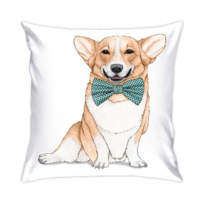 Подушка Весёлая собака