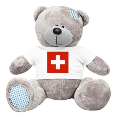 Плюшевый мишка Тедди Мишка Швейцария