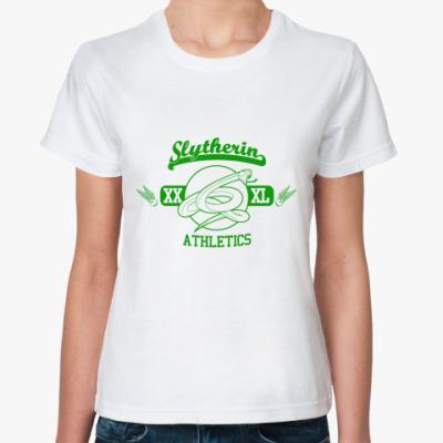 Классическая футболка Slytherin