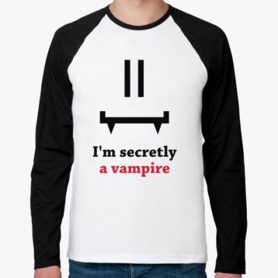 Футболка реглан с длинным рукавом Secret vampire