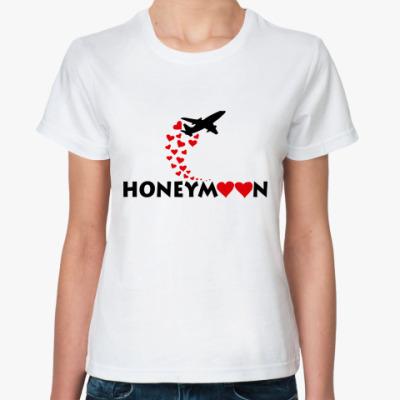 Классическая футболка  HoneyMoon