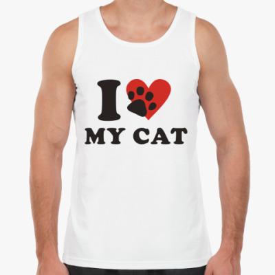 Майка Я люблю своего кота