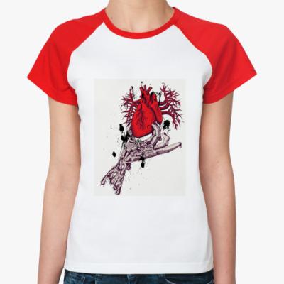 Женская футболка реглан   Madness