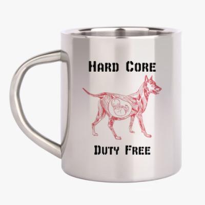 Кружка металлическая Hard Core Duty Free