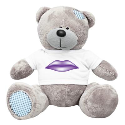 Плюшевый мишка Тедди Губы