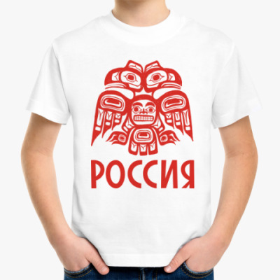 Детская футболка Россия. Орел.