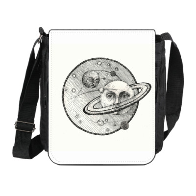 Сумка на плечо (мини-планшет) Сатурн