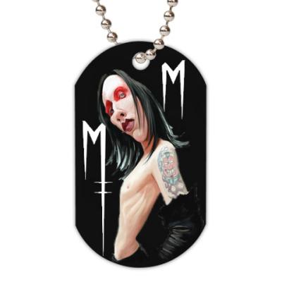 Жетон dog-tag Manson
