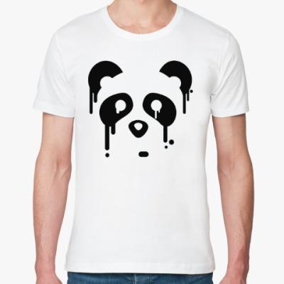 Футболка из органик-хлопка Унылая панда