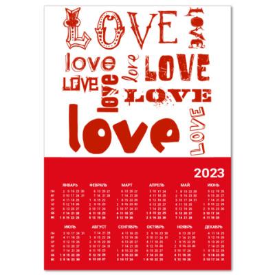 Календарь LOVE