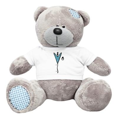 Плюшевый мишка Тедди Мишка в пиджаке