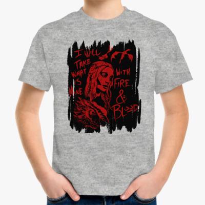 Детская футболка Игра престолов. Кхалиси