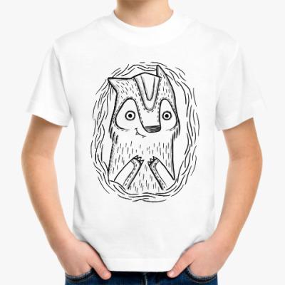 Детская футболка Волчик