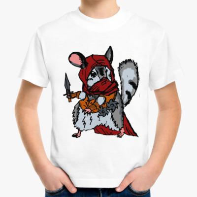Детская футболка Боевая крыса