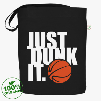 Сумка Чёрная сумка Just dunk it