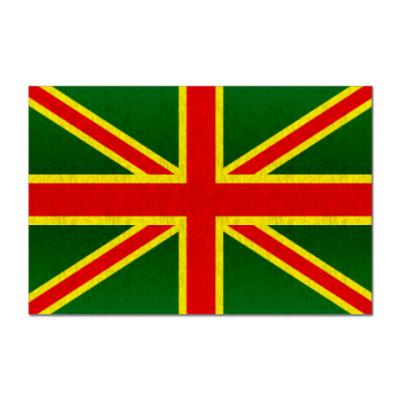 Наклейка (стикер)  Jah UK