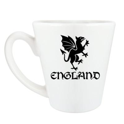 Чашка Латте Англия