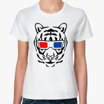 Классическая футболка ТИГР 3D