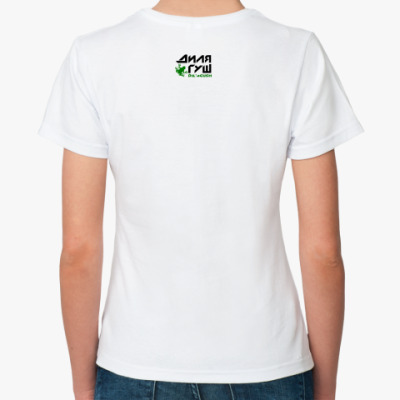 """Жен.футболка/б. """"Ахахашка"""""""