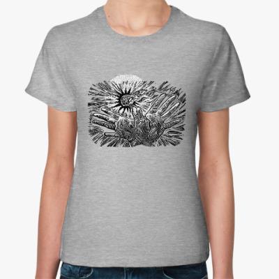 Женская футболка Для внутреннего бунтаря