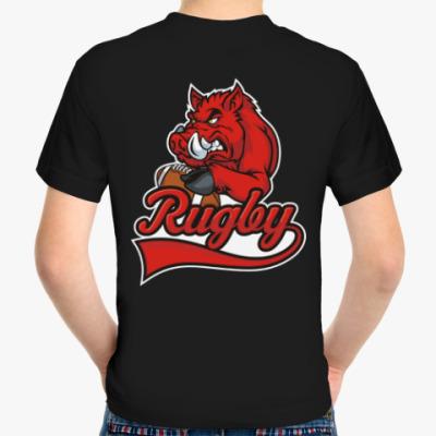 Детская футболка Регби Rugby Мяч для Регби