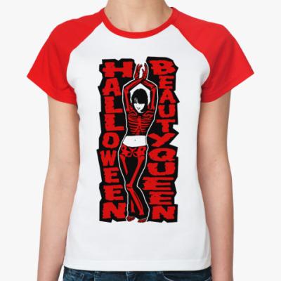 Женская футболка реглан H Queen  Ж(б/к)