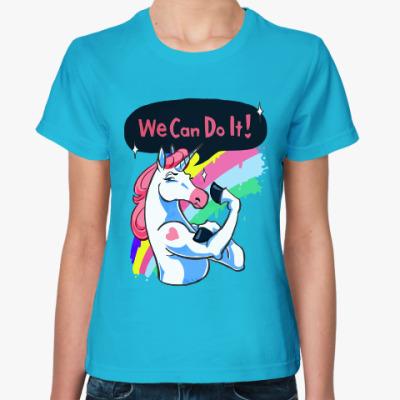 Женская футболка Единорог (Unicorn)
