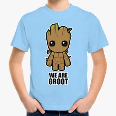 Детская футболка We are Groot