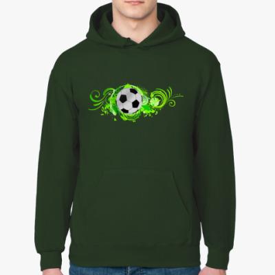 Толстовка худи Футбольный мяч