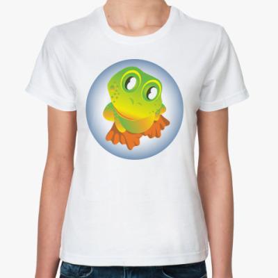 Классическая футболка Поговоим о любви