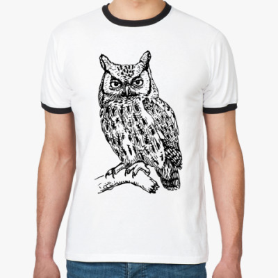 Футболка Ringer-T OWL