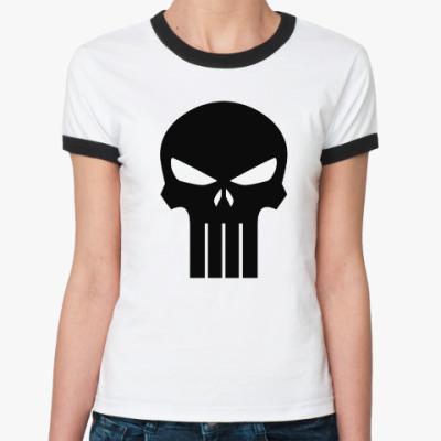 Женская футболка Ringer-T Punisher
