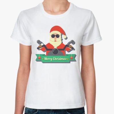 Классическая футболка Дед мороз