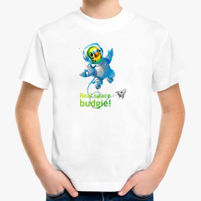 Детская футболка Попугайчик