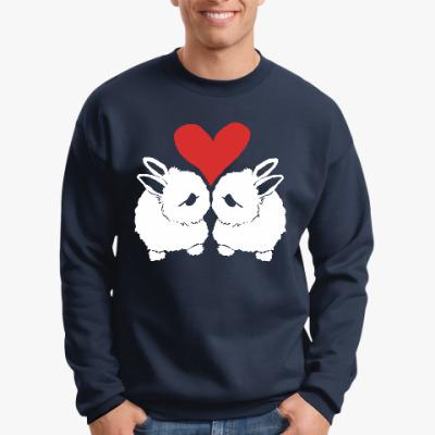 Свитшот Влюблённые кролики