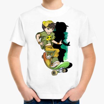 Детская футболка Скейтборд
