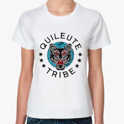 Классическая футболка Quileute tribe