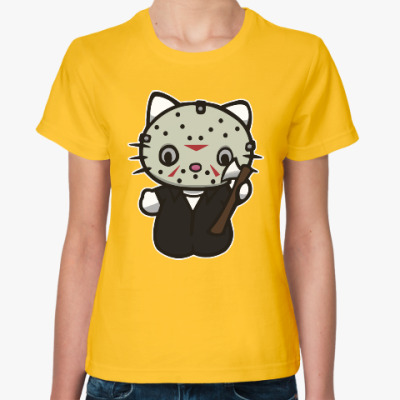 Женская футболка Китти Джейсон