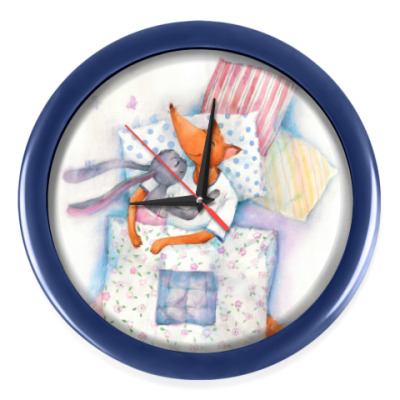 Настенные часы Уют под одеялом