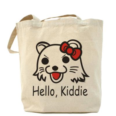 Сумка Холщовая сумка Hello, Kiddie