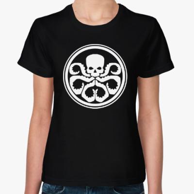 Женская футболка HYDRA / ГИДРА