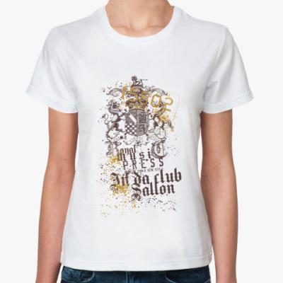 Классическая футболка illinois